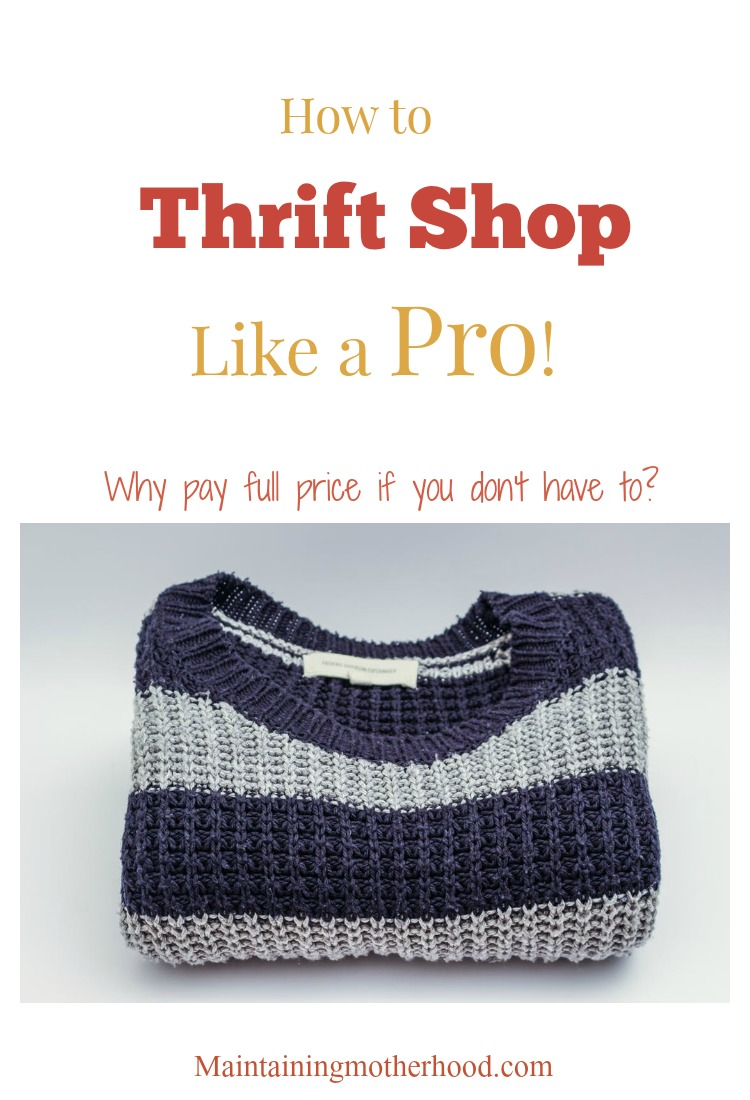 Why pay full price if you don't have to? Here are some great tips to thrift shop like a pro and dress your family well on a budget.