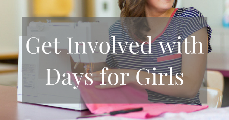 Did you know that there are girls who can't gain an education simply because of their menstrual period? Learn how to help by volunteering from home with Days for Girls.