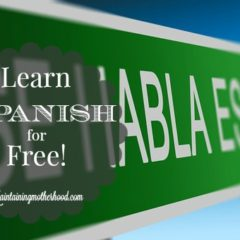 Learn Spanish for Free!