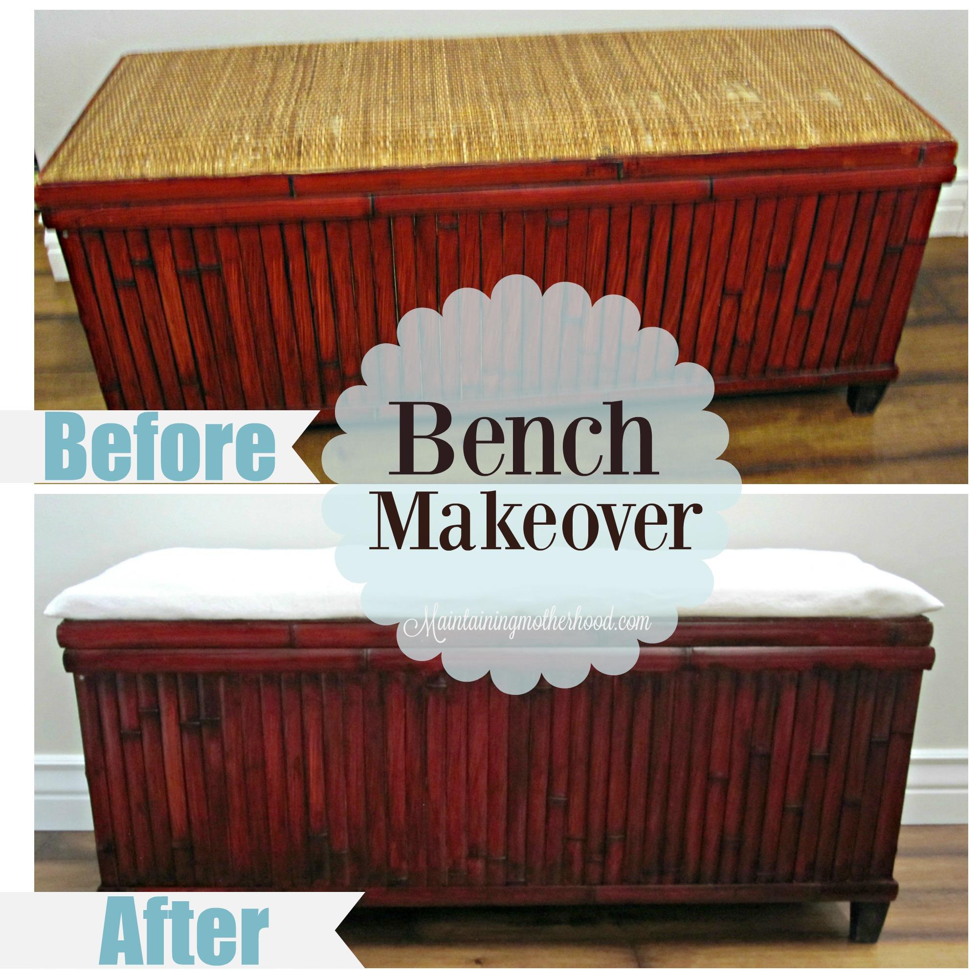 Bench makeover