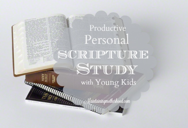 It can be hard to find uninterrupted moments to find peace. Here are 5 ways to have a productive personal scripture study amid the craziness of life.