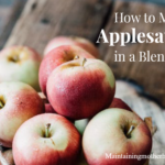 How to Make Applesauce in a Blender