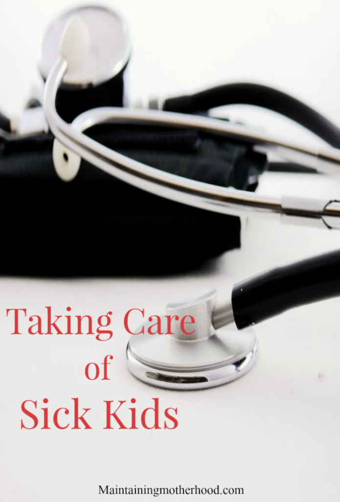 Sick kids? To save you copays and time in the Dr's office collecting more germs, here are my top sick kid tips for this winter season.