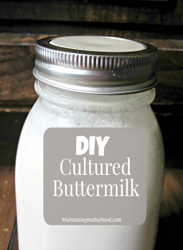 Using real cultured buttermilk in recipes rather than substitutes makes a difference. To cut costs on buying buttermilk all the time, why not make your own?