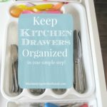 Keep Kitchen Drawers Organized