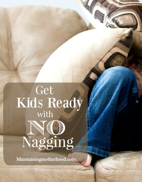 Get Kids Ready with NO Nagging