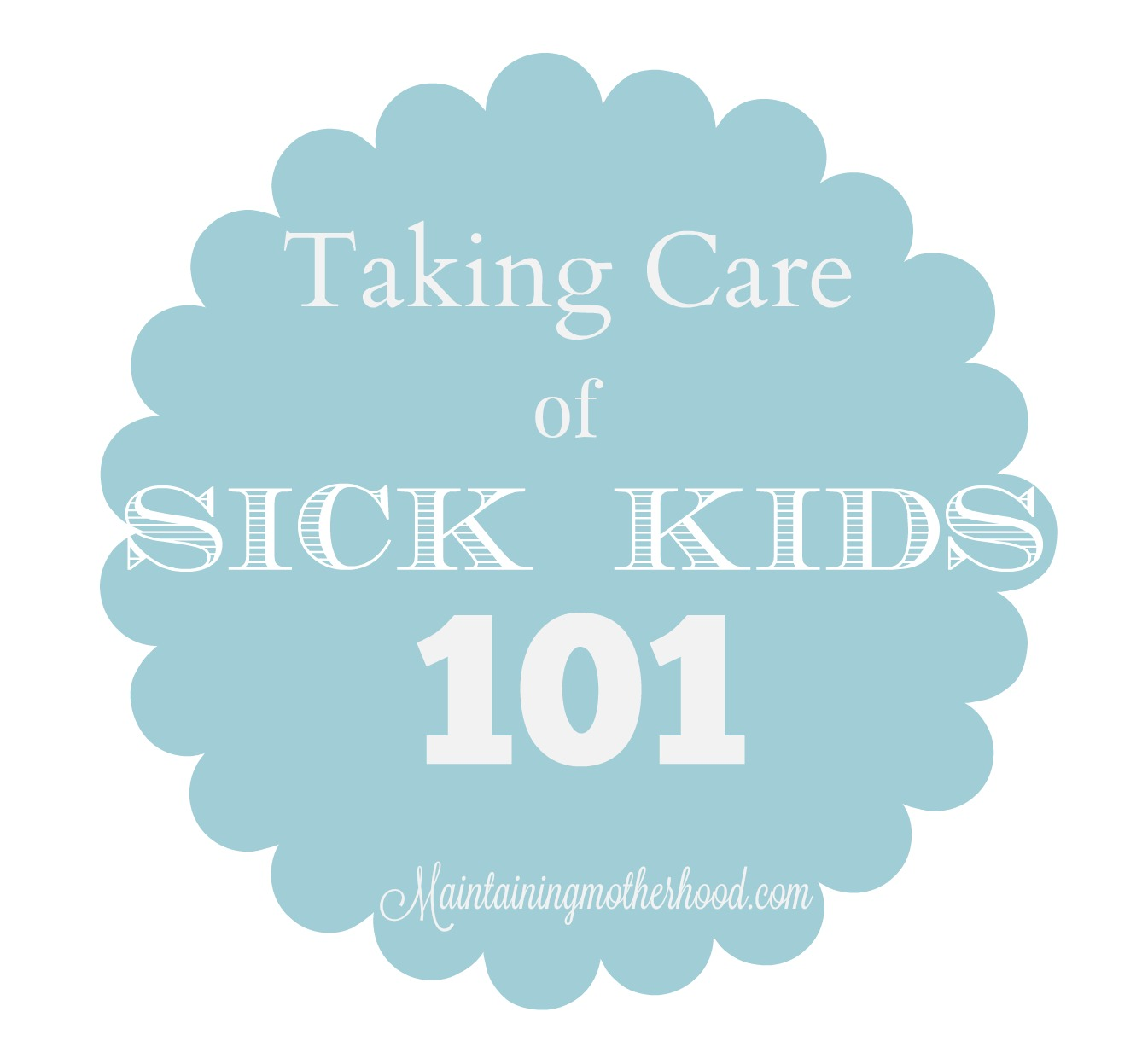 To save you copays and time in the Dr's office collecting more germs, here are my top sick kid tips for this winter season.