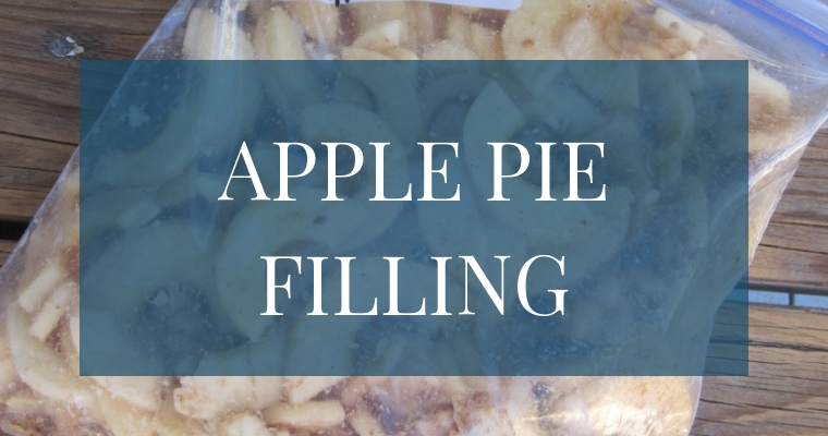 Want a simple way to make apple pie filling? This is our absolute favorite way to have fresh apple pie on hand all year long!