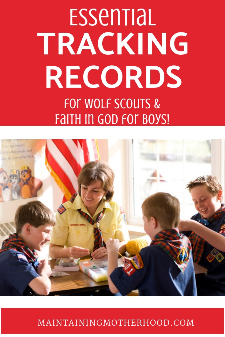 Are you looking for great resources for Scouts? Here are the most effective tracking records for Wolf Cub Scouts and Faith in God for Boys all in one place!