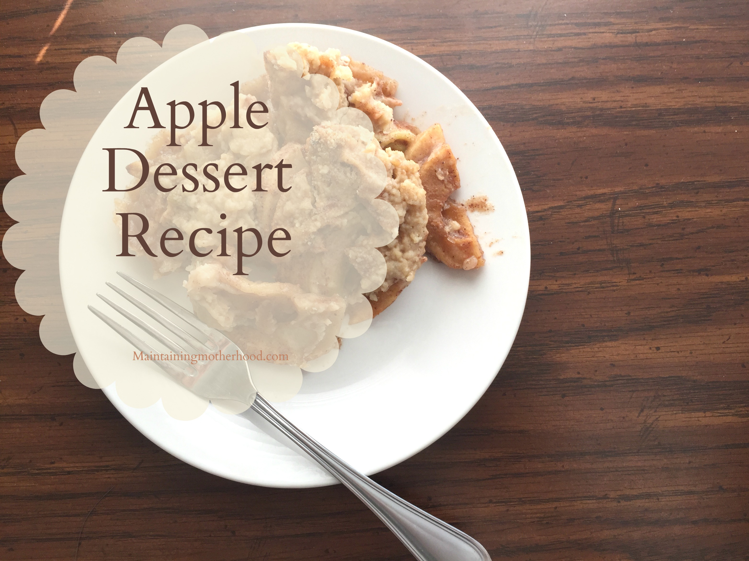Looking for a delicious alternative to pie? This apple dessert is the perfect marriage of apple pie with a crispy, crumbly, and strudel topping.