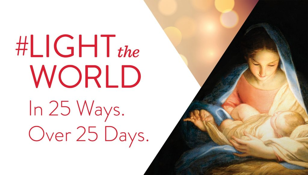 Looking for ways to serve this holiday season? Join with millions to Light the World through service this Christmas season.