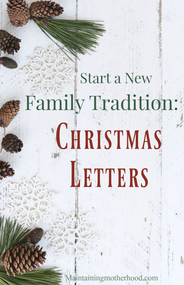 Have you tried to find the perfect family Christmas tradition that everyone can participate in regardless of age or budget? Try writing Christmas letters!