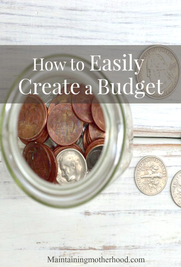 Budgeting and finances. Two cringe-worthy words. Learn how to easily make a budget to help you reach your financial goals! It's easier than you think! Includes free printable budget tracker.