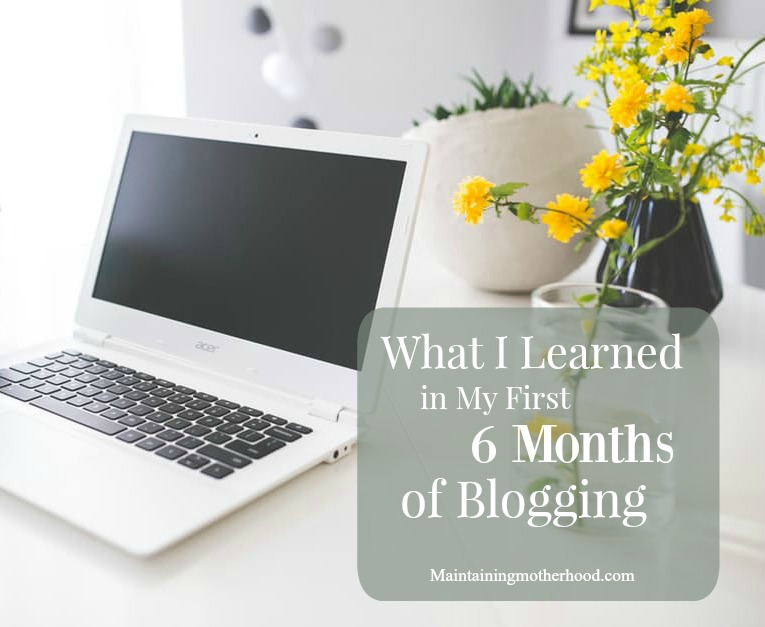 Starting a blog seemed so magical and easy. Here are three great lessons I have learned in my first 6 months of blogging.