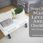 Deep Clean Main Living Area Checklist