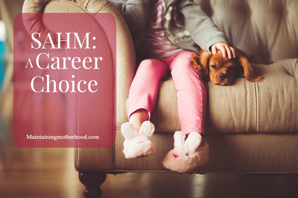 Although often under appreciated, SAHMs are a staple to our society. When you view your motherhood role more as a job or career, you will find more success.