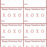 No Candy Valentine Printable