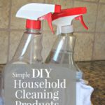 Simple DIY Household Cleaning Products