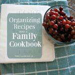 Organizing Recipes into a Family Cookbook