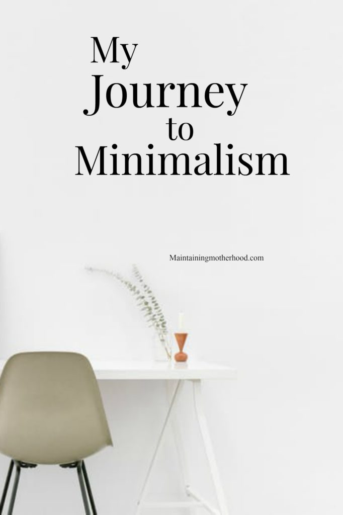 Minimalism is a journey. I have been decluttering my life and feel free! Start small. It's not just about eliminating stuff, it's about eliminating stress.