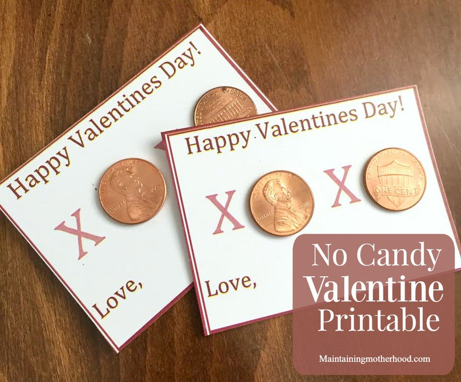 Looking for an inexpensive, candy-free Valentine that is sure to be a winner? Look no further! Get your no candy valentine printable for free!