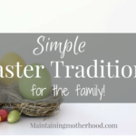 Simple Easter Traditions