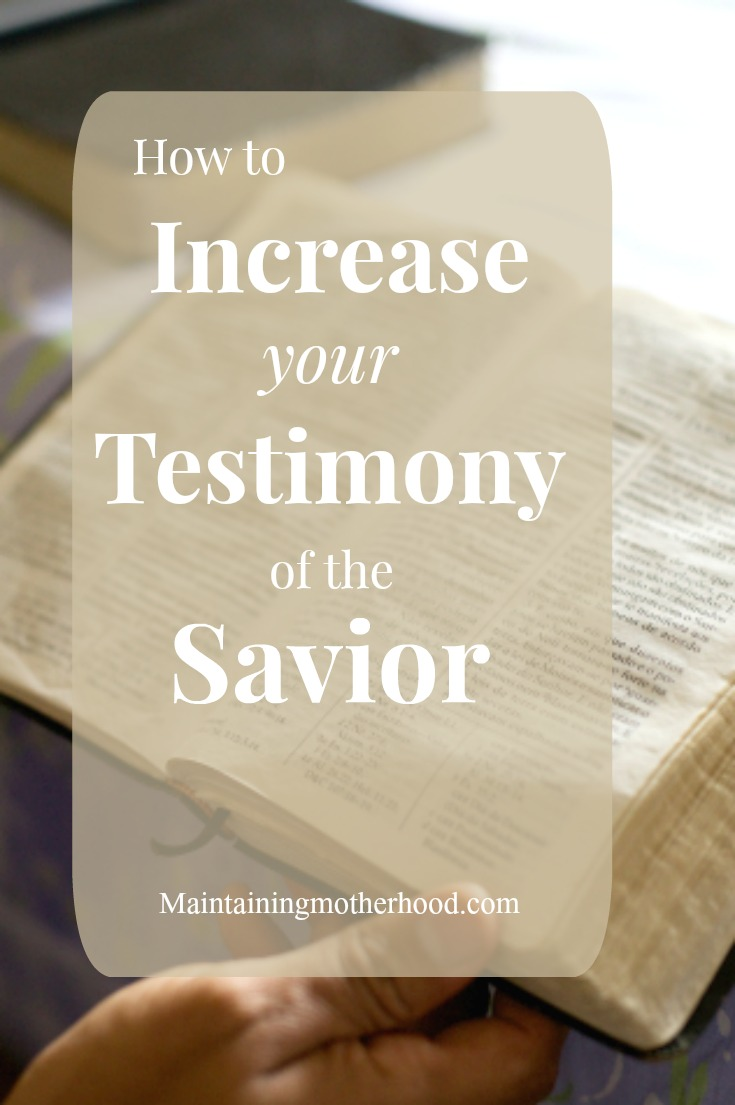 Do you want to strengthen your testimony of Jesus Christ? Follow Russell M. Nelson's challenge and discover how to increase your testimony of the Savior.