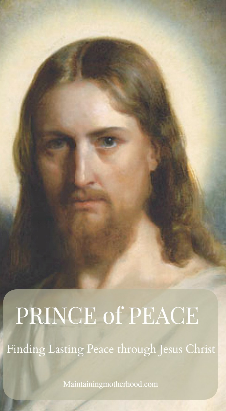 Do you need more peace in your life? Through the Prince of Peace you can find lasting peace through Jesus Christ by focusing on faith building principles!