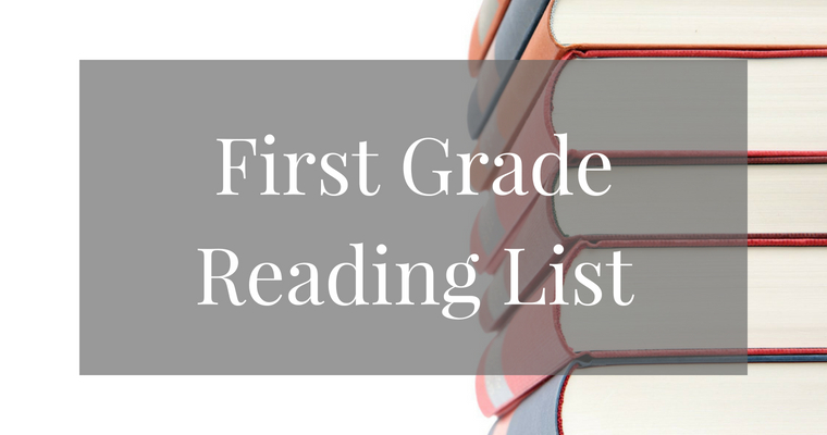 First Grade Summer Reading Book List