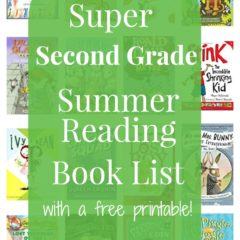 Second Grade Summer Reading Book List