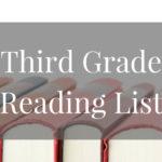 Third Grade Summer Reading Book List