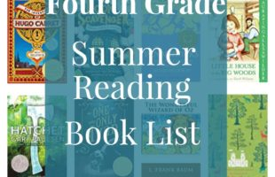 Fourth Grade Summer Reading Book List