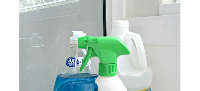 DIY Amazing Shower Cleaner