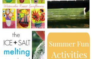 Summer Fun Activities for Kids Week 4