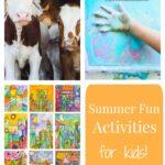 Summer Fun Activities for Kids Week 5