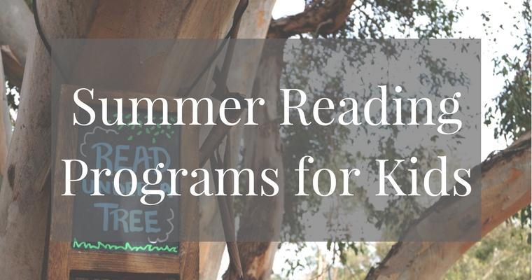 Summer Reading Programs for Kids
