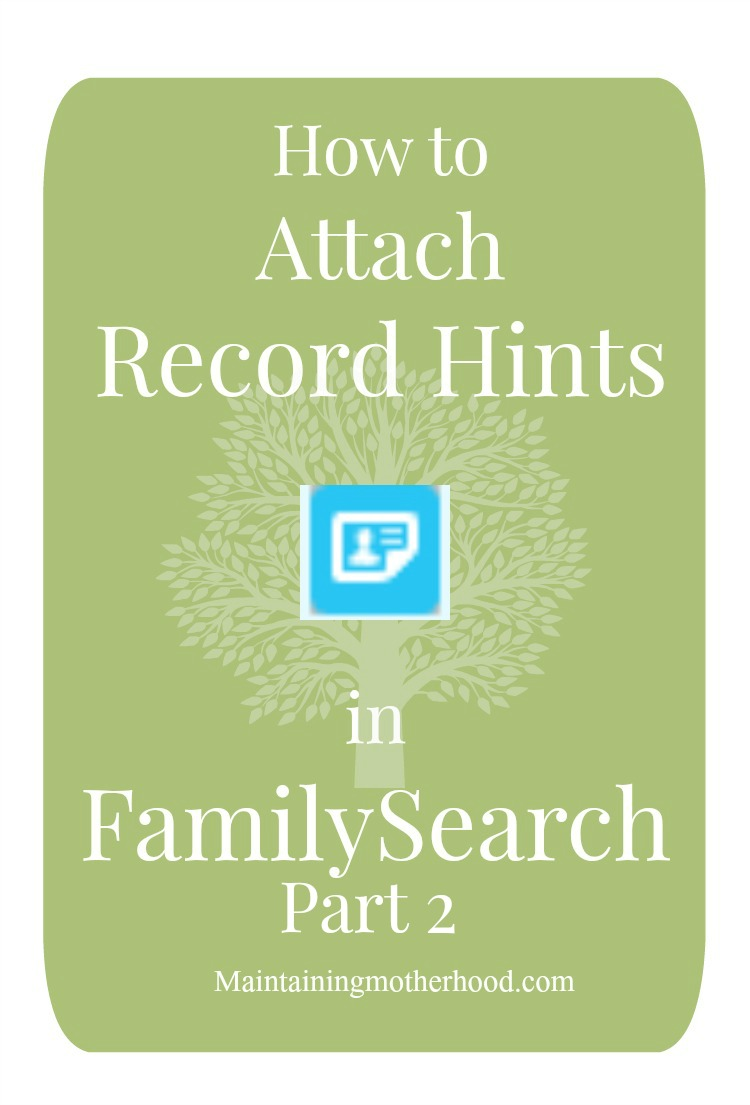 Attaching Record Hints–Part 2