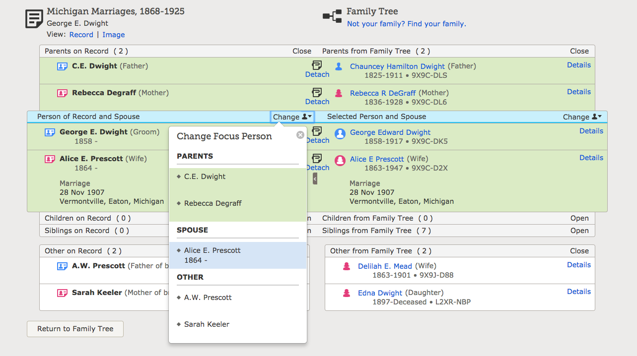 Want to learn more about attaching Record Hints in FamilySearch? Learn some quick tricks, and more in depth ways to research and find other Records!