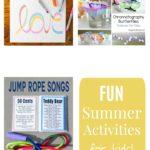 Kid Summer Activities: Week 9