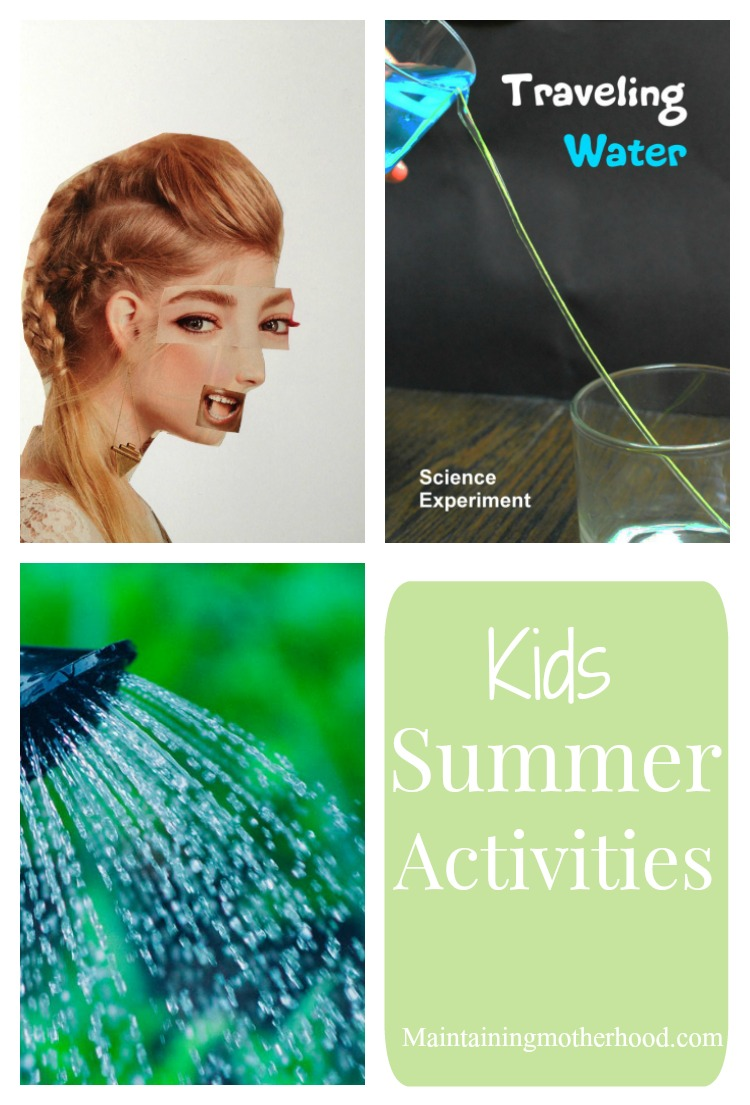 Looking for activities to keep your kids busy this summer? Follow along with our art and science projects and other kid summer activities.