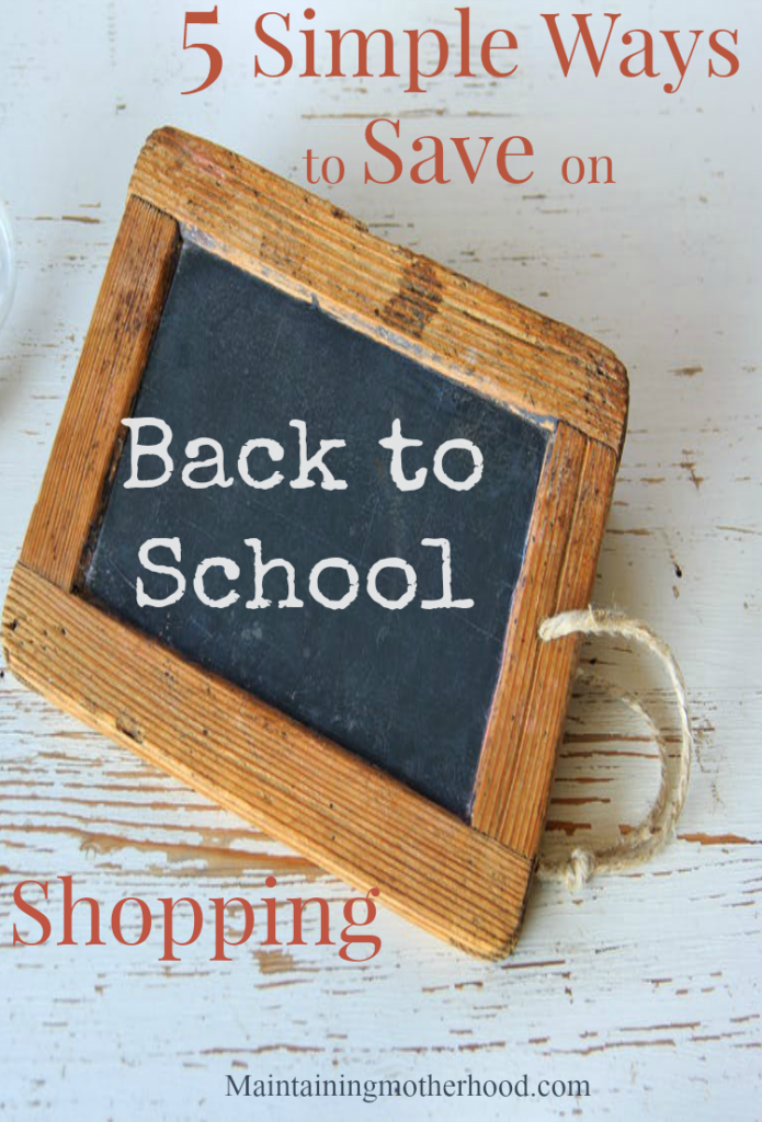 Looking to save time and money while stocking up on school supplies? Here are 5 simple ways to save on Back to School Shopping!