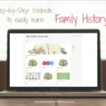 My Family History Class Website