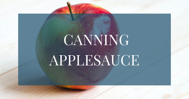 Do you want an easy recipe to make delicious homemade applesauce? Here are 10 simple steps to walk you through how to can your own applesauce!