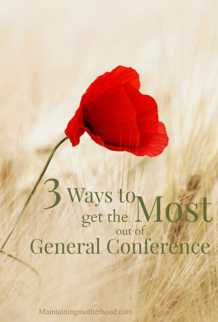 Looking for ways to remember and apply what you just learned in Conference? Here are three ways you can continue to learn after General Conference.