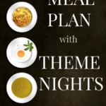 Meal Planning with Theme Nights