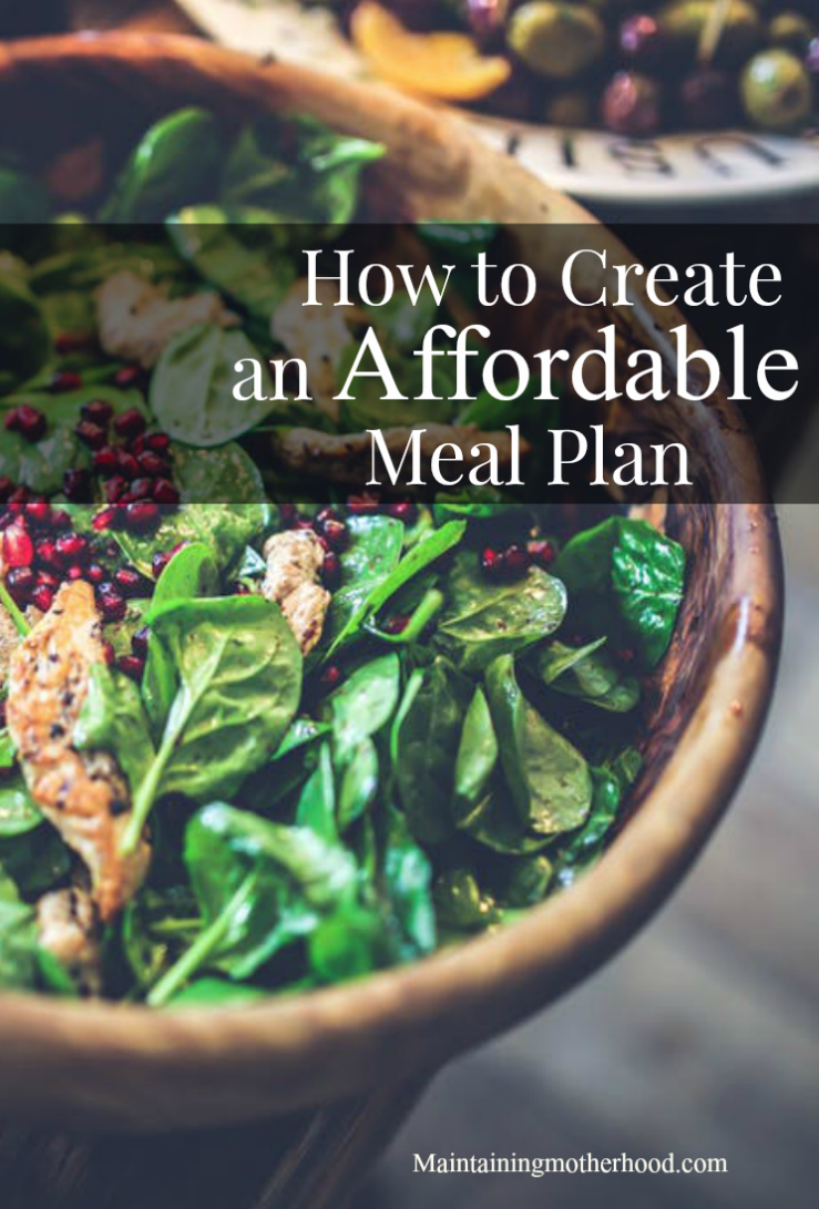 Looking for ways to create an affordable meal plan? Read about our rotating menu and find ways to make your meals healthy, easy, and include variety!