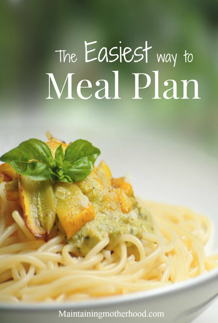 Ready to start Meal Planning today? Grab a paper and pencil and learn how to easily make your own Meal Plan with Theme Nights!