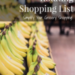 Rotating Shopping List