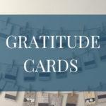 DIY Thanksgiving Thankful Cards