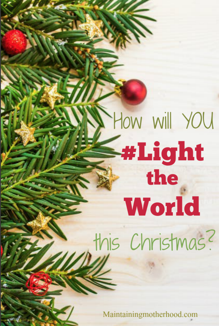 Looking for ways to serve this Christmas season? Participate with millions in Light the World 2017 to focus on what will I get, to what will I give.